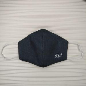 The champagne room - Denim face mask - brand new